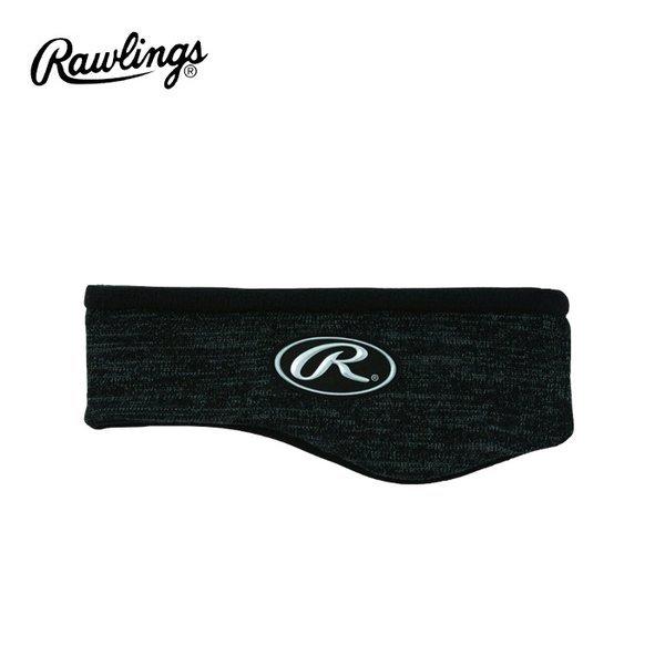 롤링스 베이스볼 헤어밴드(AAC9FO1) 블랙 귀마개 상품이미지
