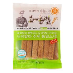 통밀스틱 오~통밀 20봉  새싹발아 수제과자 저칼로리바