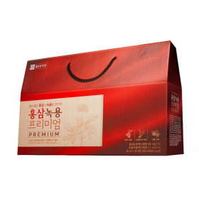 종근당건강 홍삼 녹용 프리미엄 30포 1박스