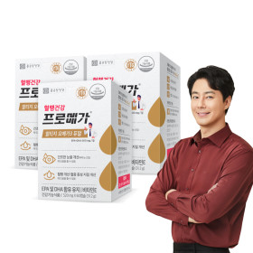 종근당건강 프로메가 알티지 오메가3 60캡슐 3개