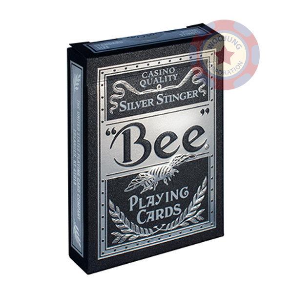 바이시클 비(BEE) 실버스팅어 마술 게임카드 상품이미지