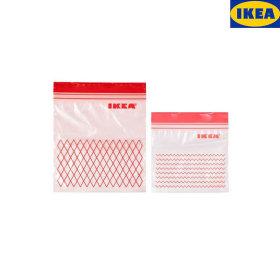 이케아지퍼백60개 위생봉투 위생백 지퍼백 비닐포장