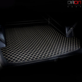 4D 입체퀼팅 현대 아반떼HD 가죽트렁크매트 차박매트