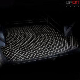 4D 입체퀼팅 현대 뉴싼타페(06-10) 가죽트렁크매트