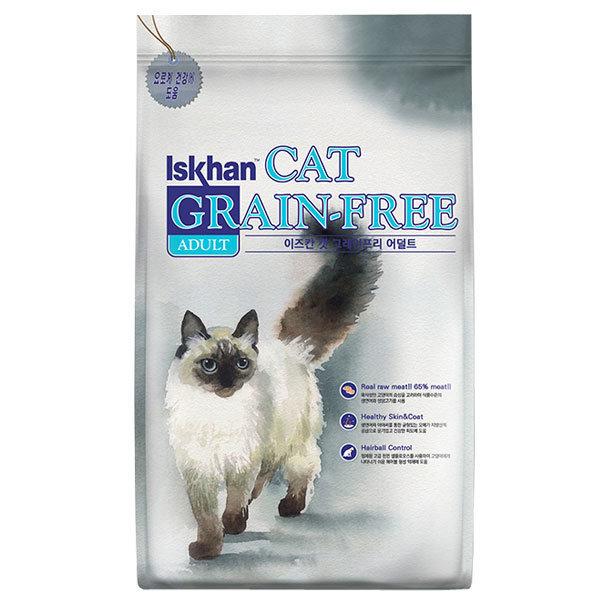 이즈칸캣 그래인프리 어덜트 6.5kg 고양이사료 상품이미지