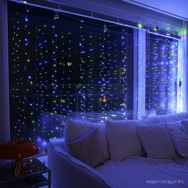 OMT 커튼 LED 조명 인테리어 레인보우 OL-RAINBOW 상품이미지