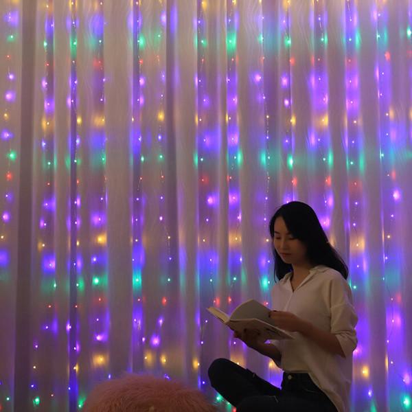 OMT 레인보우 커튼 LED 전구 감성 조명 OL-RAINBOW 상품이미지