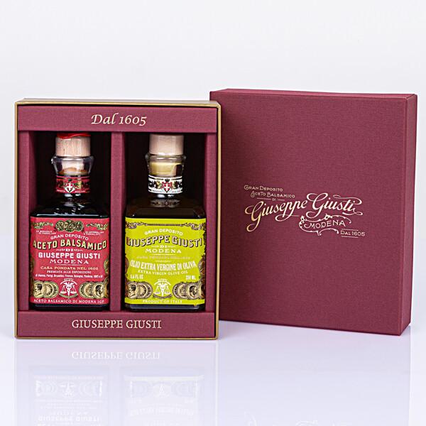 가우스  선물세트 주세페주스티 비아파리니 올리브오일+리카르도 3메달 12년 Cubic발사믹식초 상품이미지