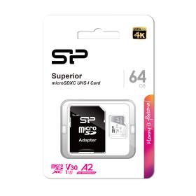 Superior microSDHC/SDXC UHS-I 4K UHD A2V30 64G -PT