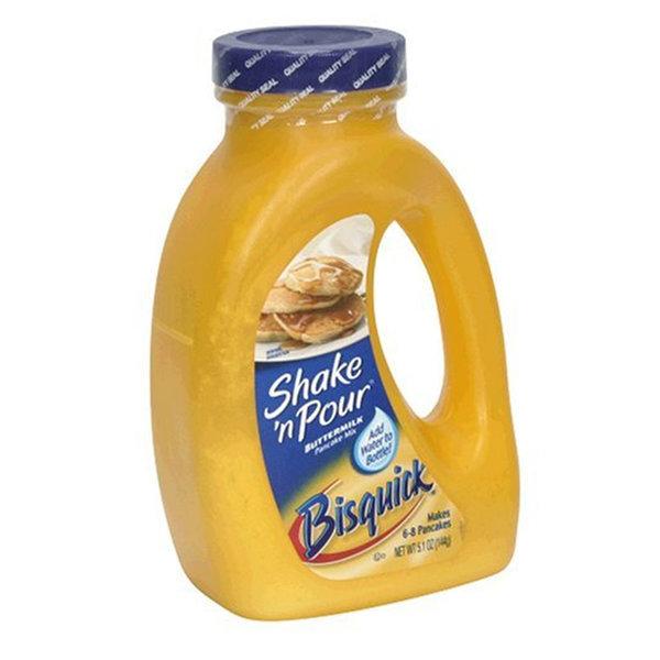 베티크로커 비스퀵 버터밀크 팬케이크 믹스 144g 6팩 상품이미지