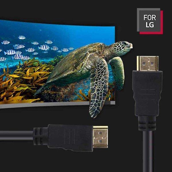 LGC-HC40 HDMI케이블 2.0Ver 5m TV 스마트폰 블랙 상품이미지