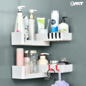 OMT 욕실 다용도 흡착식 벽 선반 회전가능 OSO-T6