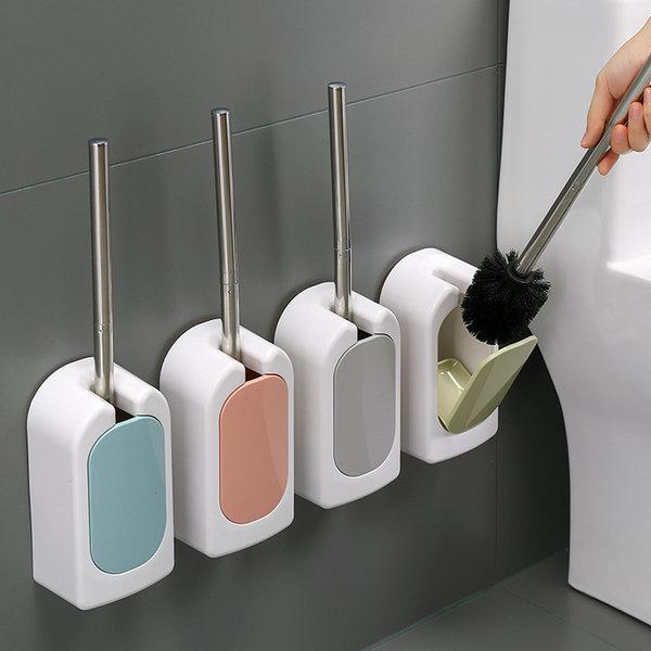 OMT 벽걸이 욕실 변기솔 보관함 세트 청소솔 OSO-T16 상품이미지