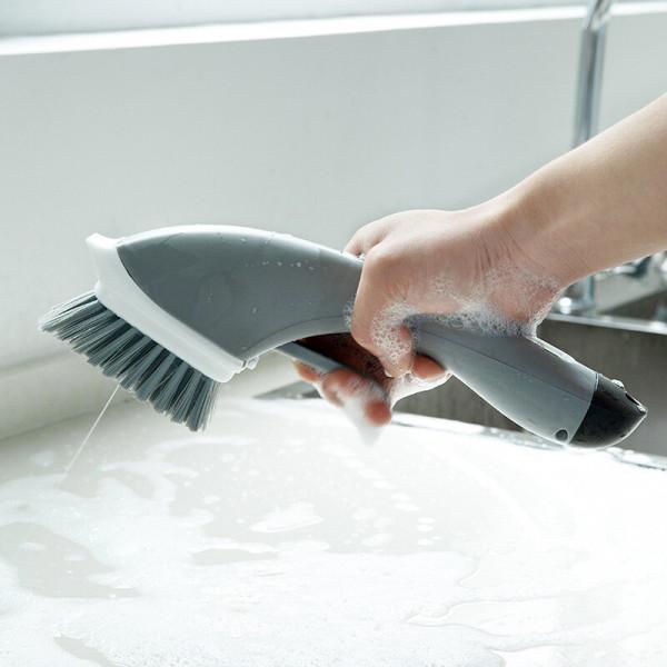 OMT 세제분사형 청소브러쉬 청소솔 OSO-T19 욕실 주방 상품이미지