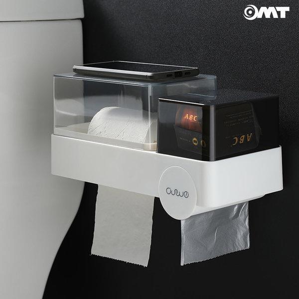 OMT 화장실 다용도 휴지걸이 욕실수납장 OSO-T118 상품이미지