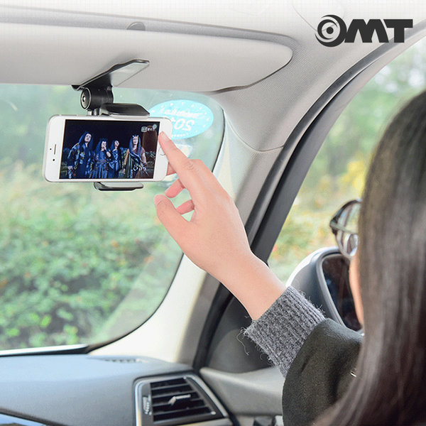 OMT 차량용 핸드폰 선바이저 거치대 OSA-ZY29 상품이미지