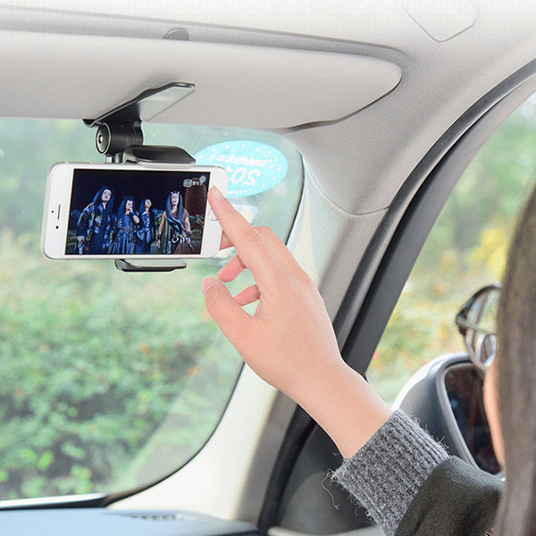 OMT 차량용 선바이저 핸드폰 거치대 OSA-ZY29 상품이미지