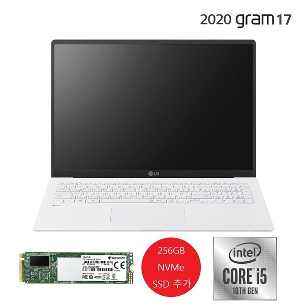 LG노트북 그램17 17Z90N-VA50K 상품이미지