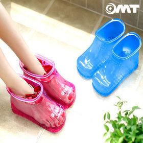 OMT 풋케어 족욕신발 발지압 족탕기 OSO-T20 핑크