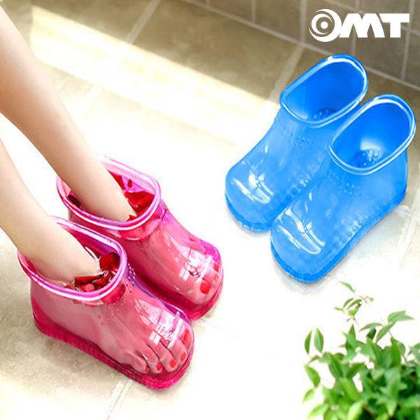 OMT 풋케어 족욕신발 발지압 족탕기 OSO-T20 핑크 상품이미지