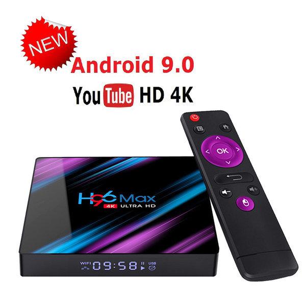 H96 MAX RK3318 스마트 안드로이드9.0 tv박스 4GB+64GB 상품이미지