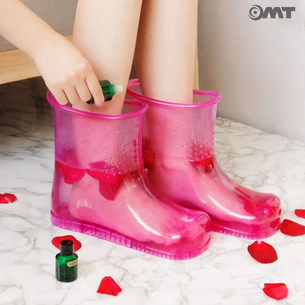 OMT 간편 족욕신발 발마사지 풋케어 OSO-T20 핑크 상품이미지
