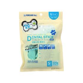 덴탈스틱 강아지 덴탈껌 칼슘 작은별 관절건강 220g