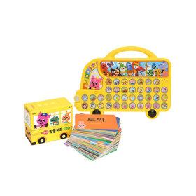 핑크퐁 사운드북 한글버스와 한글카드