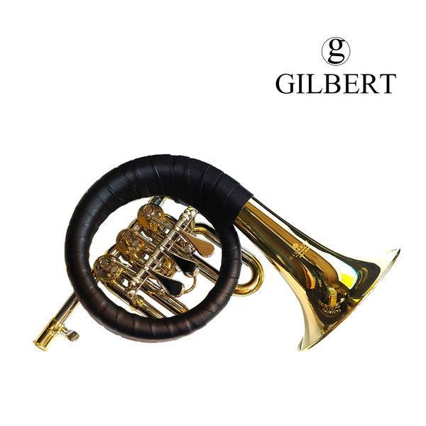 길버트 Bb 포스트혼 - SB-4 (골드락카) 풀패키지 상품이미지
