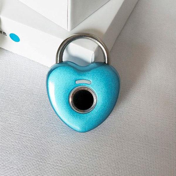 해외  Harmony  cute mini heart fingerprint lock 상품이미지