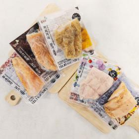풀토래 혼합 닭가슴살 10팩/무료배송 국내산닭100%