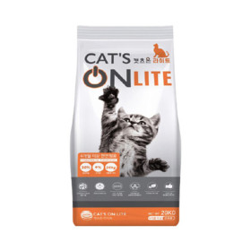 캣츠온라이트 20kg 길 고양이사료 대용량