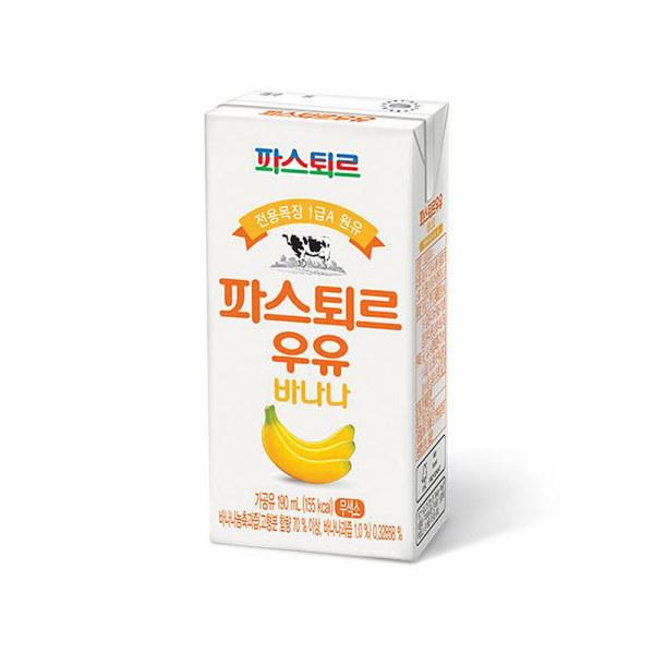 롯데 파스퇴르 우유 바나나190ml24입 상품이미지