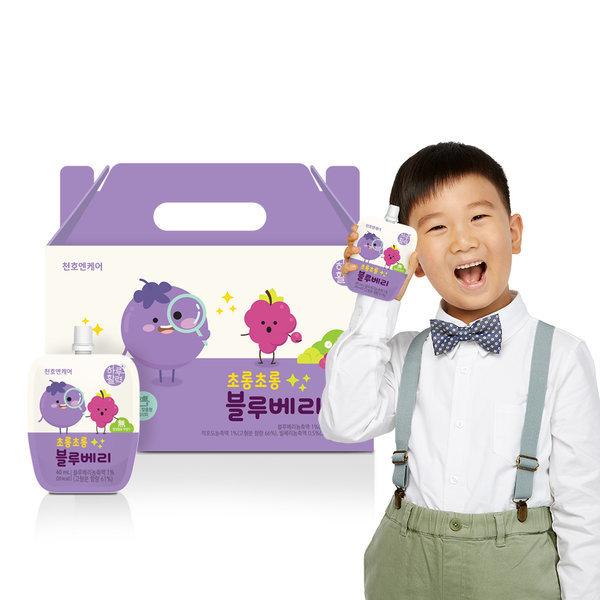 어린이 초롱초롱 블루베리 40ml 30팩 1박스 상품이미지