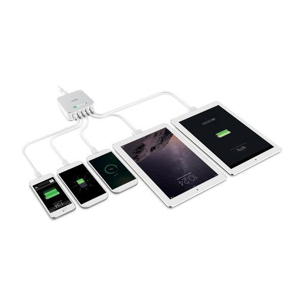 QC3.0 5포트 USB충전기고속멀티충전기MCU-05/갤럭시탭 상품이미지