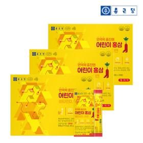 종근당 6년근 어린이 홍삼스틱 젤리 (10포X3EA) 3세트
