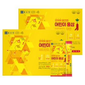 종근당 6년근 어린이 홍삼스틱 젤리 (10포X3EA) 2세트