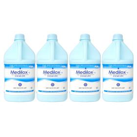 메디록스S 4L x 4통/고수준 살균소독제 메디록스 MEDI