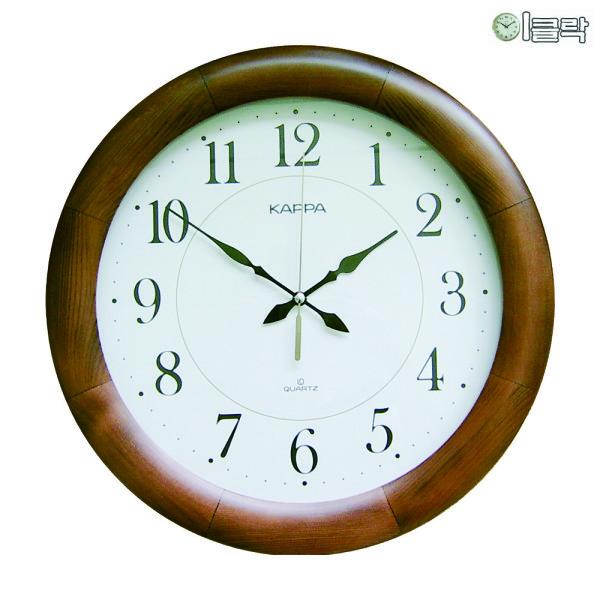 카파 W630/W640 원목 벽시계 (지름32~40cm)/이클락 상품이미지