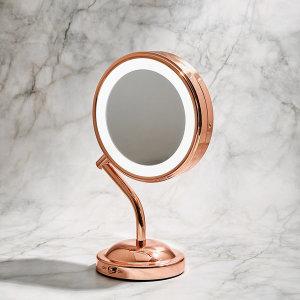 BE4SRGK - 양면 LED 조명 탁상 거울 확대경