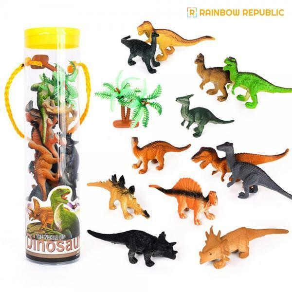 S 레인보우리퍼블릭 미니 공룡세트 상품이미지