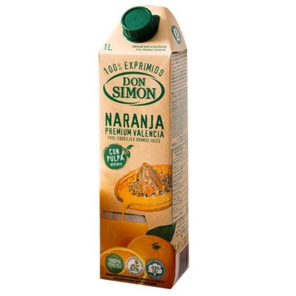 돈시몬 착즙 오렌지 주스 1L 리얼 생오렌지 주스 상품이미지