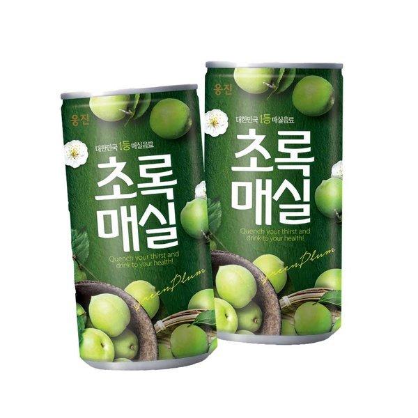웅진식품 초록매실 180mlX30캔/ 상품이미지