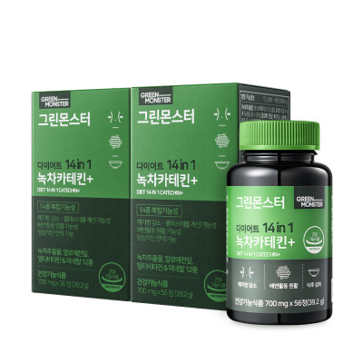 (1+1) Diet 14in1 Green Tea Catechin+