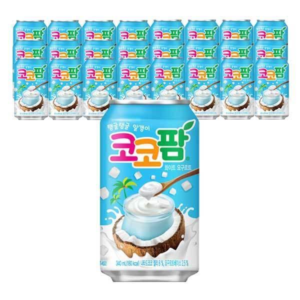 해태음료  코코팜 화이트 340ml x 24캔 상품이미지