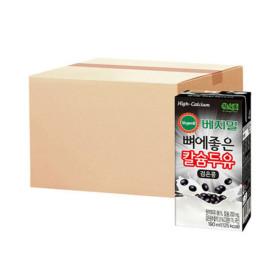 베지밀 뼈에좋은 칼슘두유 검은콩 190ml 16팩 x4박스