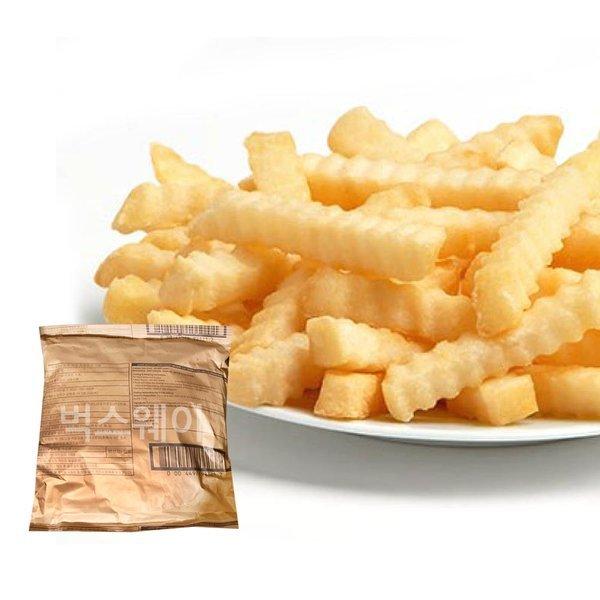 크링클컷 주름감자 2kg x6개/감자튀김 크링클컷감자 상품이미지