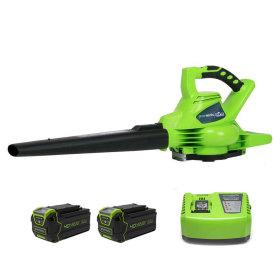 40V 충전 전기 전동 브로워 송풍기 충전식 2팩 세트