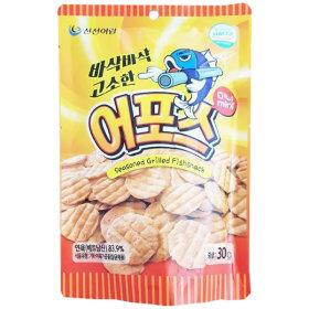 어포스 미니 30g /꾸이맨 피시스낵 어포 쥐포 아귀포
