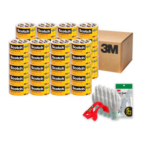 스카치 포장용 박스 테이프 3650X20개+10개증정+사은품
